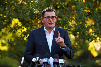 Premier Daniel Andrews has pumped an extra $1.3 billion into Victoria's health system.