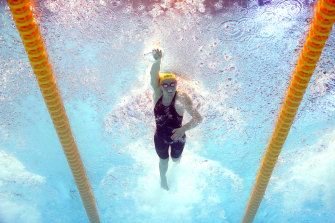 Ariarne Titmus is an expert at timing her run in the 400m freestyle.