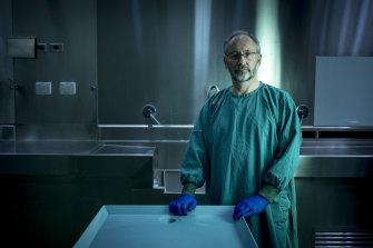 Professor David Ranson of the Victorian Institute of Forensic Medicine.