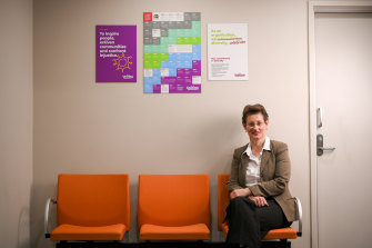 Rose McCrohan, manager and nurse practitioner at Uniting ReGen, a residential withdrawal facility in Ivanhoe.