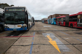 The franchising of three Sydney bus regions has been pushed back by coronavirus.