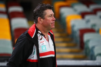 Man with a plan: Brett Ratten.