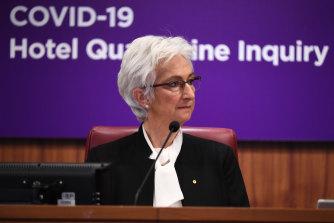 Jennifer Coate is leading the inquiry into Victoria's hotel quarantine program.
