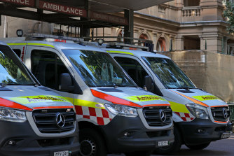 Aboriginal people were admitted to hospitals at almost double the rate of non-Aboriginal people in NSW in 2018-19, the report said.