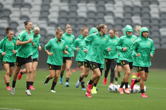 The Matildas' Olympic qualifying tournament was moved to Australia.