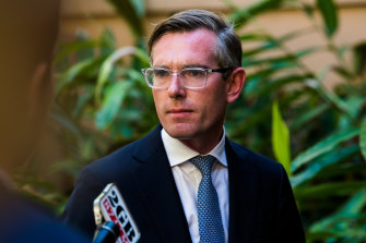 NSW Treasurer Dominic Perrottet wants international students to return to his state.