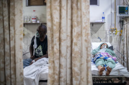 A new wave of the pandemic has totally overwhelmed India's healthcare services and has caused crematoriums to operate day and night as the number of victims mount.