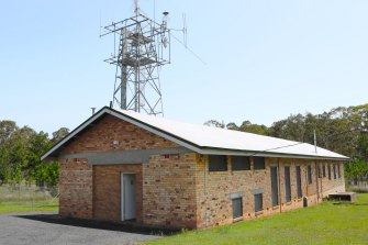 The army receiving station at Birkdale, whereUS General Douglas MacArthur learnt that WWII was over.