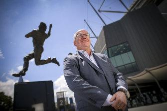 Former Cricket Australia chairman Earl Eddings.