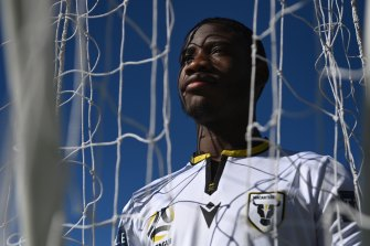 Charles M'Mombwa has taken the long road from Congo to the A-League.