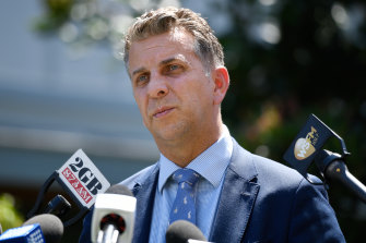 Transport Minister Andrew Constance released the most recent bill for the project on Friday, after years of cost blowouts and delays.