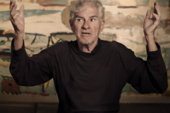 Christopher Doyle in the upcoming documentary, Like The Wind.