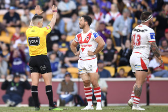 Griffin tells Dragons to suck it up after stars accept bans