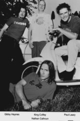 The wild and crazy Butthole Surfers emerged in Austin, Texas.