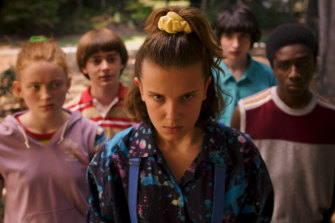 With its loving homage to '80s pop culture, spooky Stranger Things was a massive success.