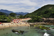 Beach in Paraty Brazil