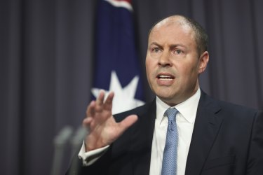 Treasuer Josh Frydenberg said the government will hold off trying to stabilise government debt until unemployment levels fall.