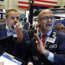 Wall Street edges higher on trade optimism, ECB stimulus
