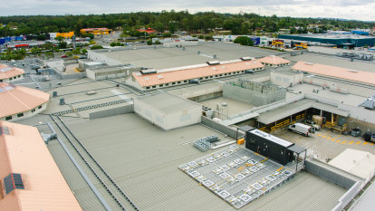 Drones deliver from roof of Queensland shopping centre in world first
