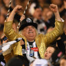 Leave us alone: Joffa in his famous sequined jacket.
