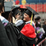 Chinese students in China.