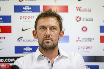 Tony Popovic will lead Melbourne Victory next season.