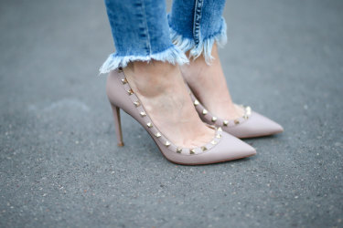 The Valentino Rockstud became an instant modern cult item.