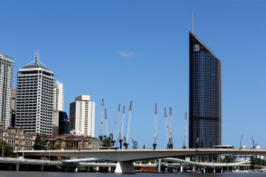 Queen's Wharf construction site which will be home to Brisbane second Casino.