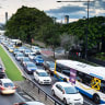 Delays easing on key roads for Brisbane city commuters
