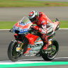 Lorenzo puts Ducati on pole for British MotoGP
