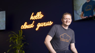 """A Cloud Guru co-founder and chief executive Sam Kroonenburg says the company has become much more """"thoughtful"""" about what it discusses in meetings to make them more productive."""