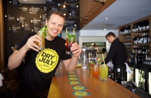 More than 130,000 Australians have participated in Dry July, the fundraiser for cancer charities that was dreamed up by Brett Macdonald and his mates, who now love mocktails.