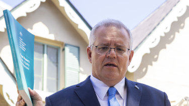 Prime Minister Scott Morrison delivered the royal commission into aged care's report on Monday.