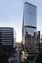 Goldfields Group's speculative 24-level, A-grade office tower is under construction at 627 Chapel Street.