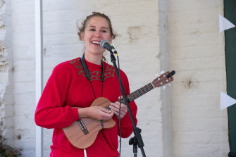 """Musician Duxie Franklin: """"COVID has made me realise how important live performance is for my identity."""""""