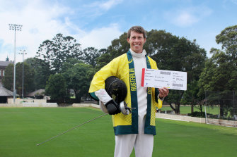 Ed Fernon has booked his ticket for Tokyo 2020.