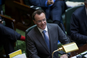 Opposition Leader Michael O'Brien.