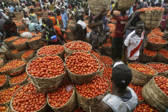 Food staples have surged in price in Nigeria, and around the world during the COVID pandemic.