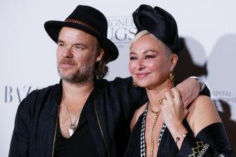 Camilla Franks and her fiance, JP Jones.
