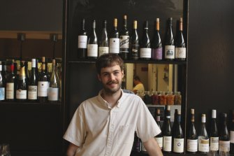 Callum Snares from Shadow Wine Bar