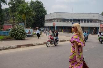 Melissa Finlayson in Kisangani.