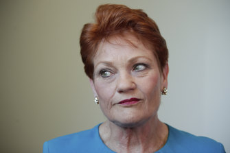One Nation leader Pauline Hanson will no longer be a regular contributor on Channel Nine's Today Show.