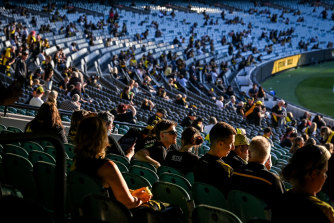 More people will be allowed to attend AFL games in Victoria this weekend.