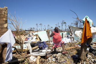 Residents of the Bahamas were relieved that they were spared a second hurricane in as many weeks.