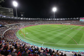The Suns and Lions will be part of the bid to bring the grand final to the Gabba.