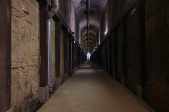 The coal loading tunnels are sometimes used for public events, such as art exhibitions, performances and light shows.
