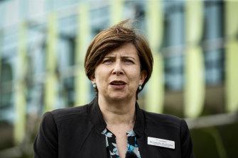 Royal Children's Hospital chief executive Bernadette McDonald.