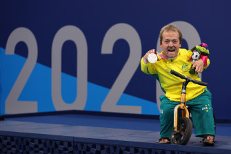 Grant 'Scooter' Patterson now has two Paralympic medals to his name.