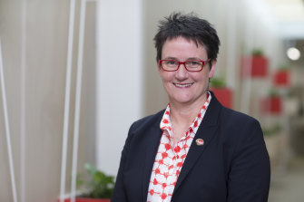 Australian Education Union Victorian president Meredith Peace is pushing for a 21 per cent pay rise over three years.