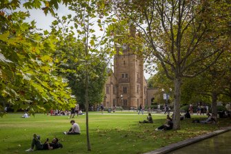 The Robert Menzies Institute is set to be housed in Melbourne University's Old Quad.